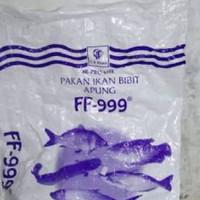 FF999 PAKAN BIBIT IKAN BERAT 1 KG /BENIH LELE/MUJAER/NILA/BANDENG