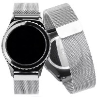 PRK Stainless Steel Tali Jam Tangan Samsung Gear s2 s3 Classic Magnet