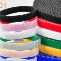 Kabel Ties Polyester Nylon Strap Pengikat Kabel Velcro