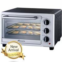 Kirin Oven Toaster 19 Liter Low Watt KBO 190 LW silver