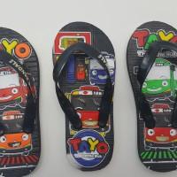 Sandal Jepit Anak G&C Motif Tayo