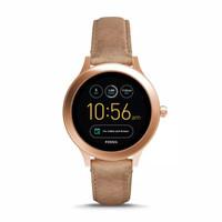 smartwatch fossil q venture gen 3 FTW6005 sand leather original