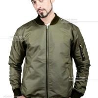 Jaket Pria Zipper - Jaket Bomber Style Korean