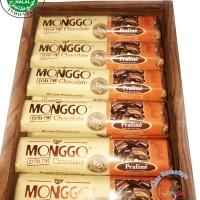 40gr Bars-CHOCOLATE MONGGO*Rasa Pralin* Cokelat Khas Jogjakarta