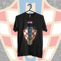 World Cup 2018 - Croatia   Kaos  Bola   Piala Dunia   Tshirt