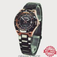 Promo Ramadhan Mirage Original Jam Tangan Wanita 7569L Black Rosegold 9f5364234c