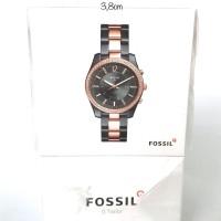 fossil hybrid smartwatch black rosegold ftw5017