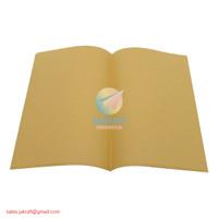 Sampul Buku Tulis Coklat Biasa Kwarto Kuarto Quarto A5 Polos isi 20