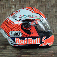 helm marquez 93 2018 ink cl max airbrush spoiler