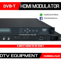 DVB-T HD Encoder Modulator HDMI To RF CATV Headend TV Kabel Digital