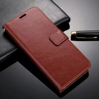 Samsung S9 flip wallet leather with photo slot
