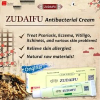 ZUDAIFU (mirip Yiganerjing) obat kulit herbal psoriasis eksim vitiligo