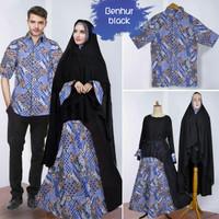 FASHION : couple gamis syari khadijah benhur baju pasangan sarimbit