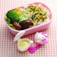 Mayonnaise & Ketchup Case Hello Kitty SAUCE CONTAINER BEKAL WADAH SAUS