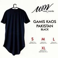 Gamis Pakistan Pria Bahan Kaos seperti Jubah Arab bisa jadi Baju kok