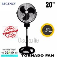 REGENCY TORNADO STAND FAN TST-51 KIPAS ANGIN BESAR BERDIRI