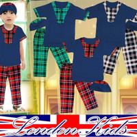 LK 10 12 14 London Kids baju setelan koko anak lakilaki branded murah