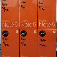 HP XIAOMI REDMI NOTE 5 PRO (XIOMI MI 5 PRO RAM 3/32GB) RESMI TAM -GOLD
