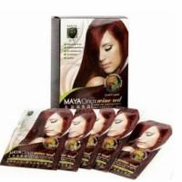 Maya Onyx Wine Red Hair Colouring 5X22Ml - Cat Rambut Permanen Merah