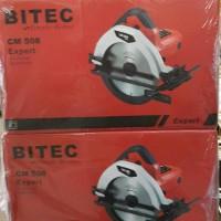 Bitec Mesin Gergaji Kayu 7 Circular Saw Red Series CM 508 C B40 Me610