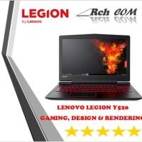 Lenovo Legion Y520 - i7 7700HQ 16GB 256GB+2TB GTX1050Ti-4GB WIn10