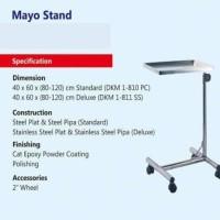 Meja Mayo Stand Rumah sakit klinik meja makan pasien rawat inap