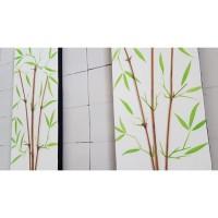 Harga lukisan bambu minimalis 3d pring | antitipu.com