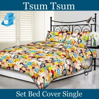 Tommony Bed Cover Single - Tsum Tsum