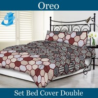 Tommony Bed Cover Double - Oreo