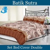 Tommony Bed Cover Double - Batik Sutra