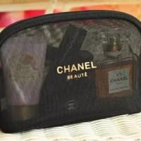 bag organizer pouch kosmetik , dompet kosmetik chanel original