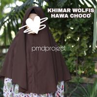 Khimar Wolfis Hijab Jilbab Murah Cantik Jumbo Penguin Jogja