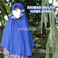 Khimar Jilbab Hijab Syari Jumbo Wolfis Cantik Murah Jogja