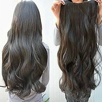 HAIR CLIP ASLI HUMAN HAIR 60CM