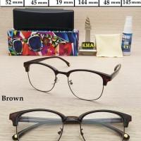 kacamata minus frame kacamata KOREA STYLE CLUBMASTER frame CLUB MASTER