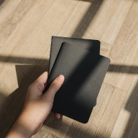 Black Paper Plain Notebook