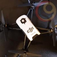 DJI TELLO 8 pcs Cutting Sticker Aksesoris Stiker Lobang Peluru Skotlet