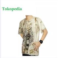 Kaos Bali Batik, Kaos Santai, Baju Tidur, Atasan Pria (KPT001)