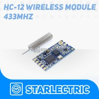 HC12 HC-12 HC 12 433Mhz SI4463 Wireless Serial port for Arduino