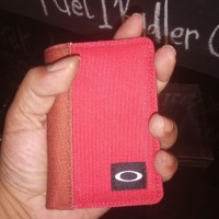 Dompet oakley Red original 100% -Dompet kecil slim