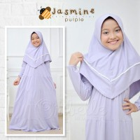 Setelan Gamis Anak Oribelle Kids Jasmine Purple