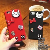 Hard Case HP OPPO A71 A83 F5 F3 F1S A59 A39 A57 Neo9 A37 3D Cat Case