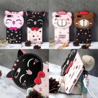 3D Rubber Case Lucky Cat Series For Samsung Galaxy Grand Prime Plus