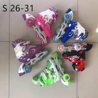 sepatu roda bajaj lampu anak superb inline skate power murah terbaru