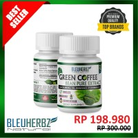 Jual 2 Botol GREEN COFFEE BEAN EXTRACT|Kopi Hijau Diet Asli 100% Murah