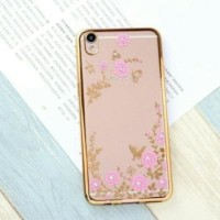 Softcase TPU Diamond Flower Blink Cover Case Casing HP Oppo A37/Neo 9