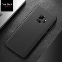 Original cafele samsung s9 plus black dan smoke black cover super thin