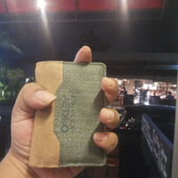 Dompet slim Oakley Pilot Original Green