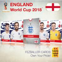 Kartu Bola Fezballer Cards ENGLAND World Cup 2018