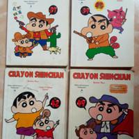 Komik crayon shinchan. Paket 4 buku. Vol. 37.39.42.49.
